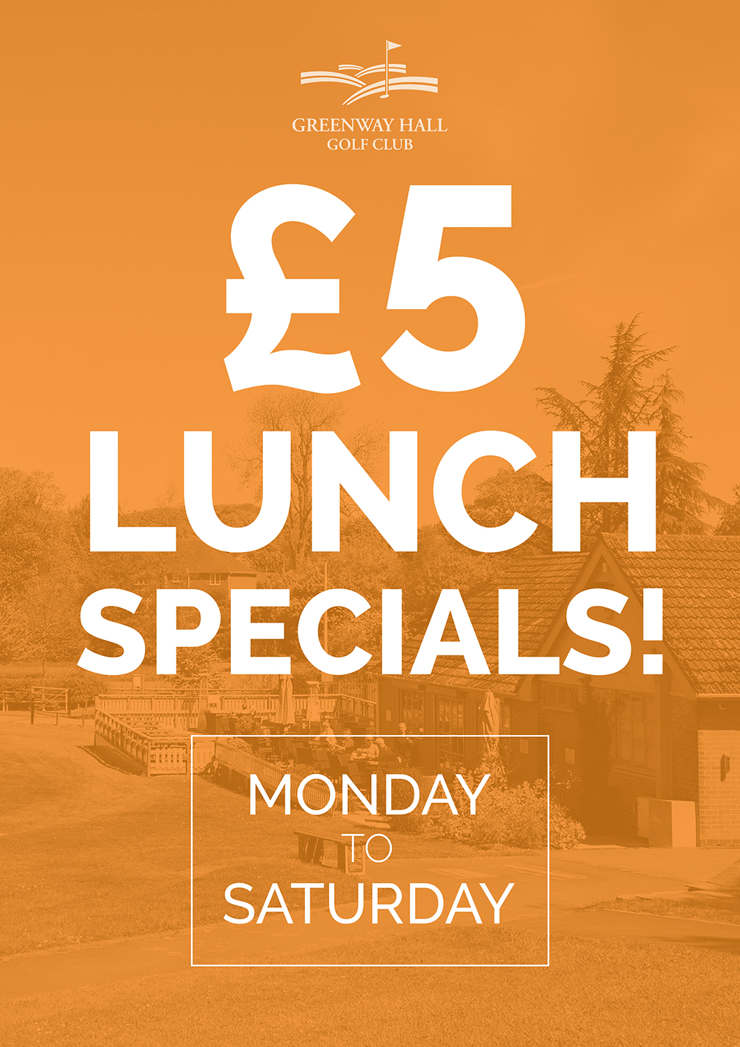 Our fantastic £5 pound lunch offer is continuing throughout February, don't miss out!