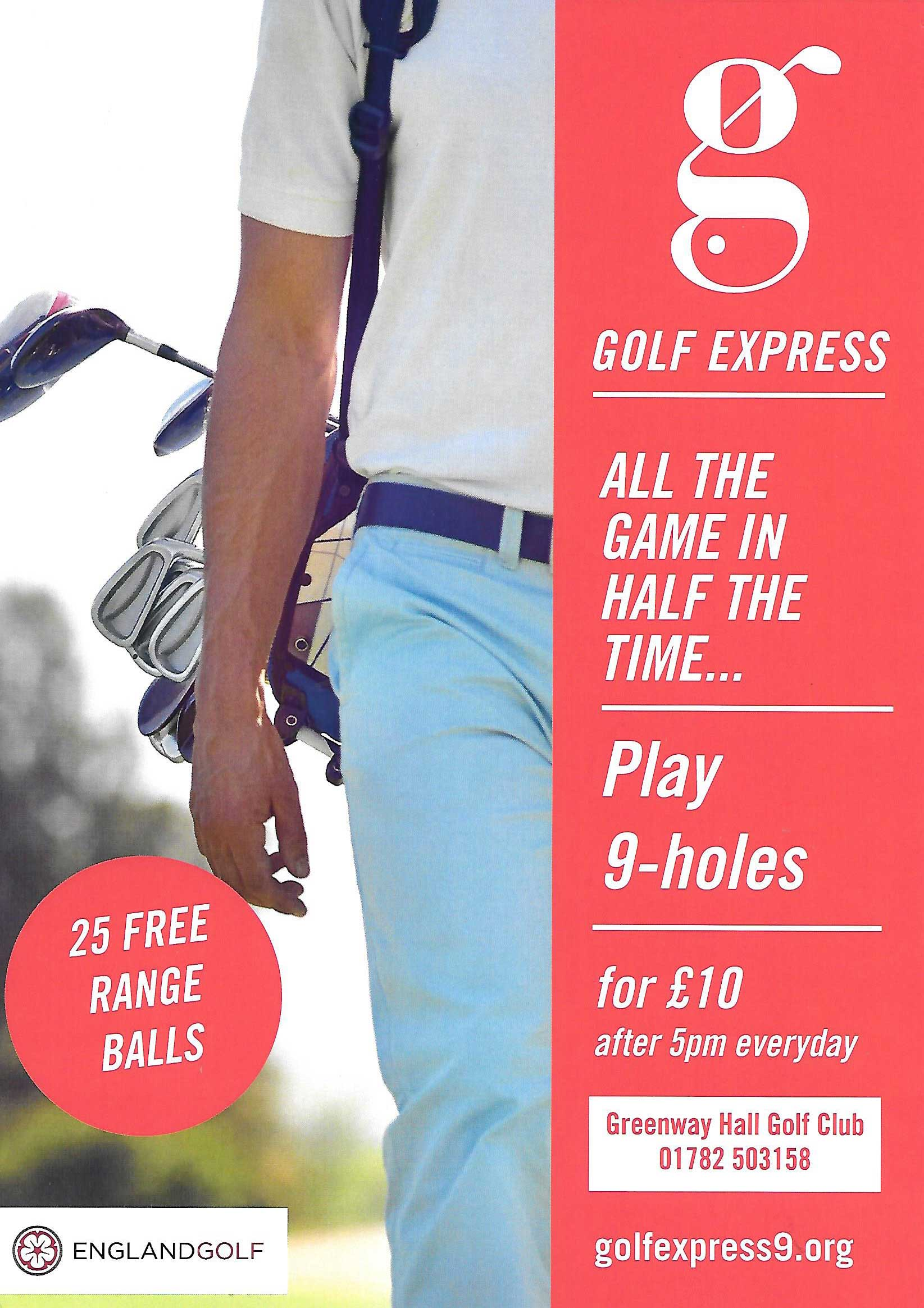9 Hole Golf Express Offer