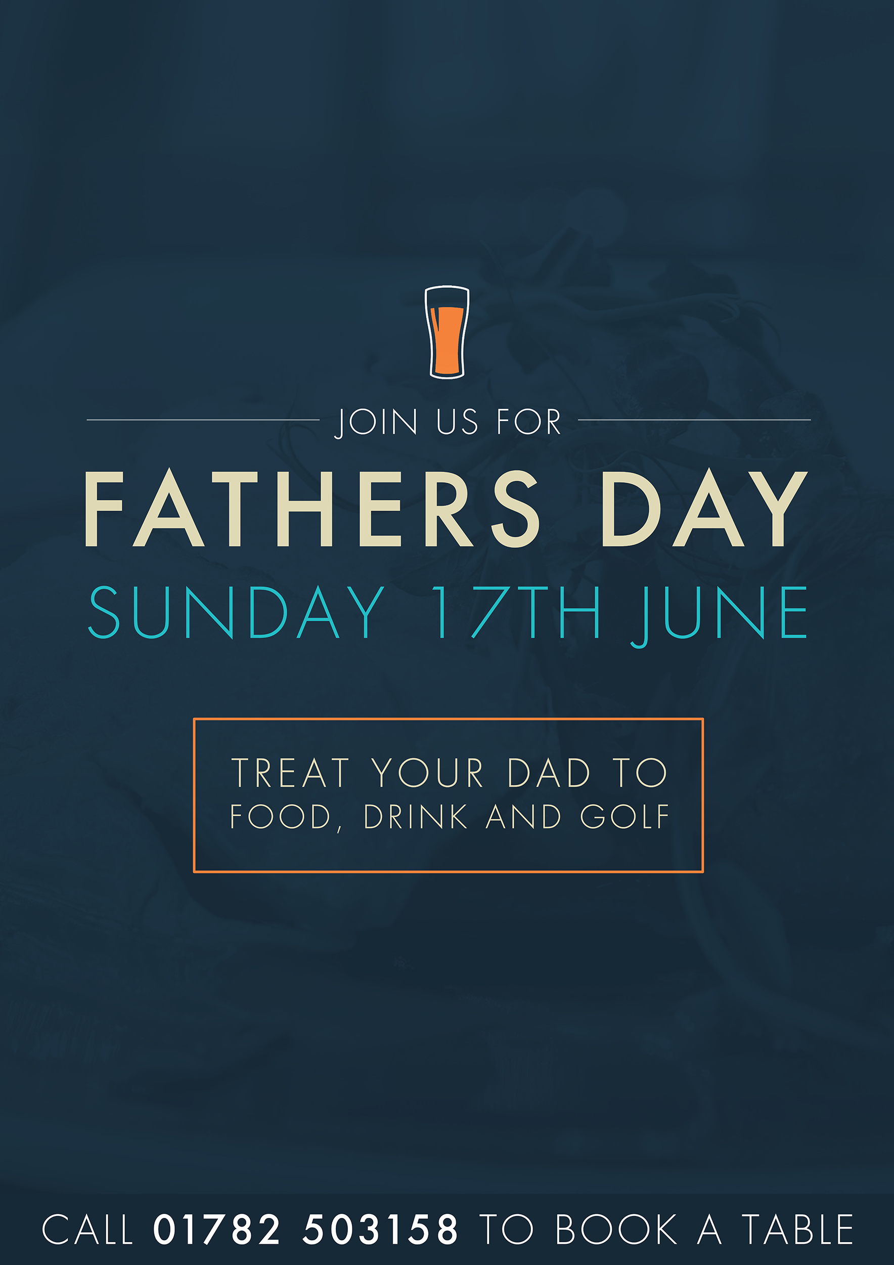 Come and join us for Father's Day at Greenway Hall this Sunday 17th June