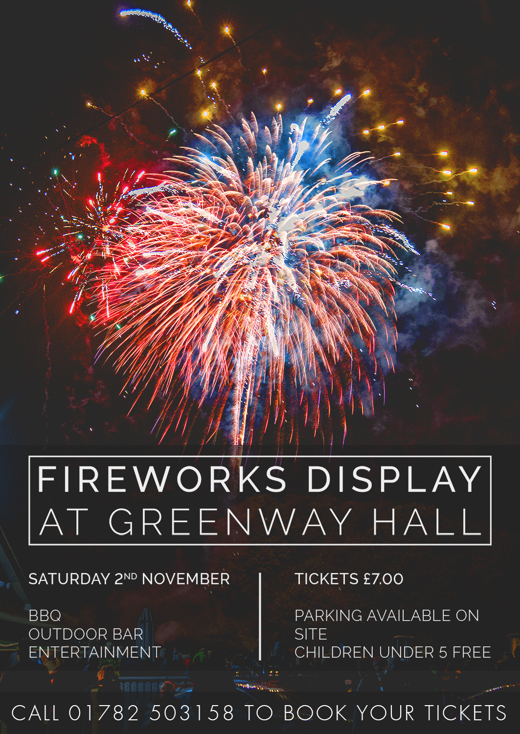 Firework Night Saturday 2nd November 2019