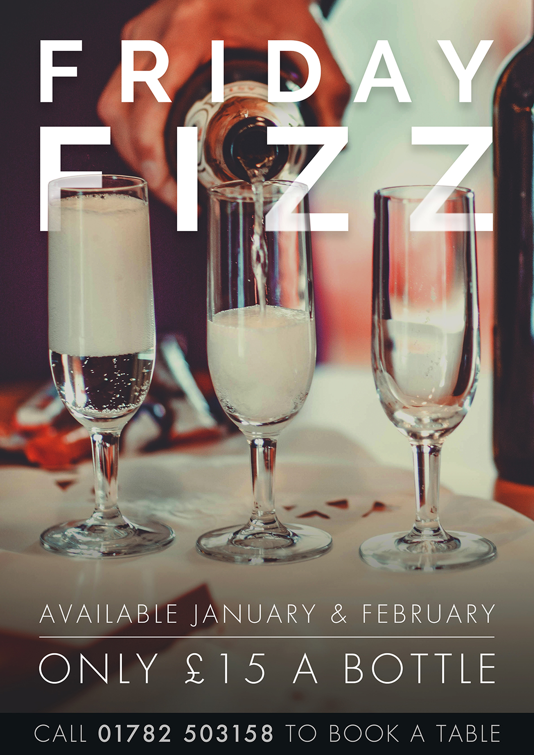 Our Friday Fizz offer is back....