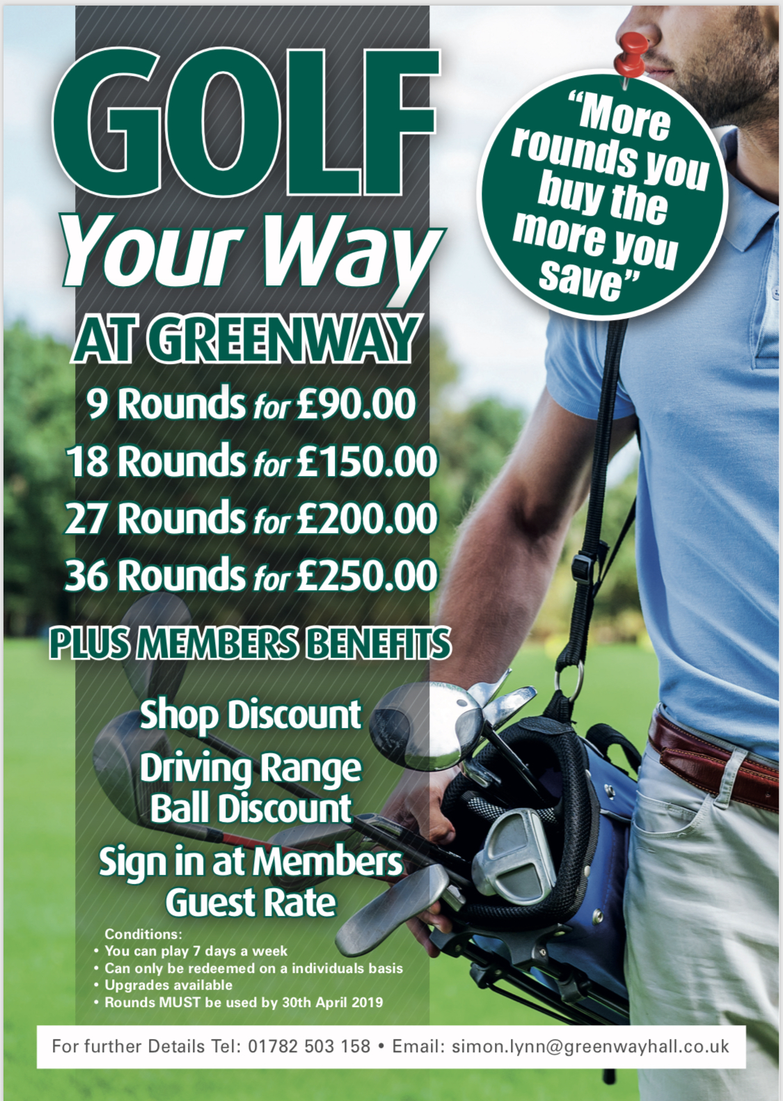 Golf your Way at Greenway