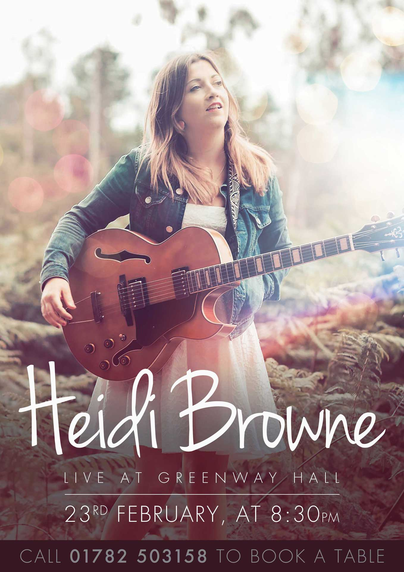 Heidi Browne Live 23 Feb 2018