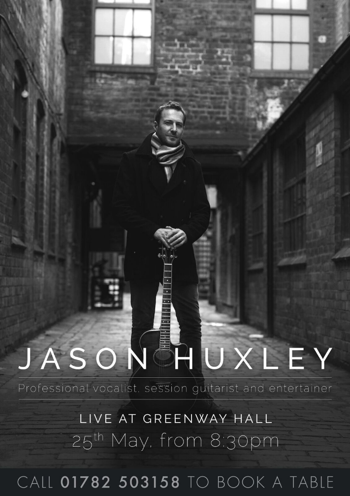 Coming soon Jason Huxley...