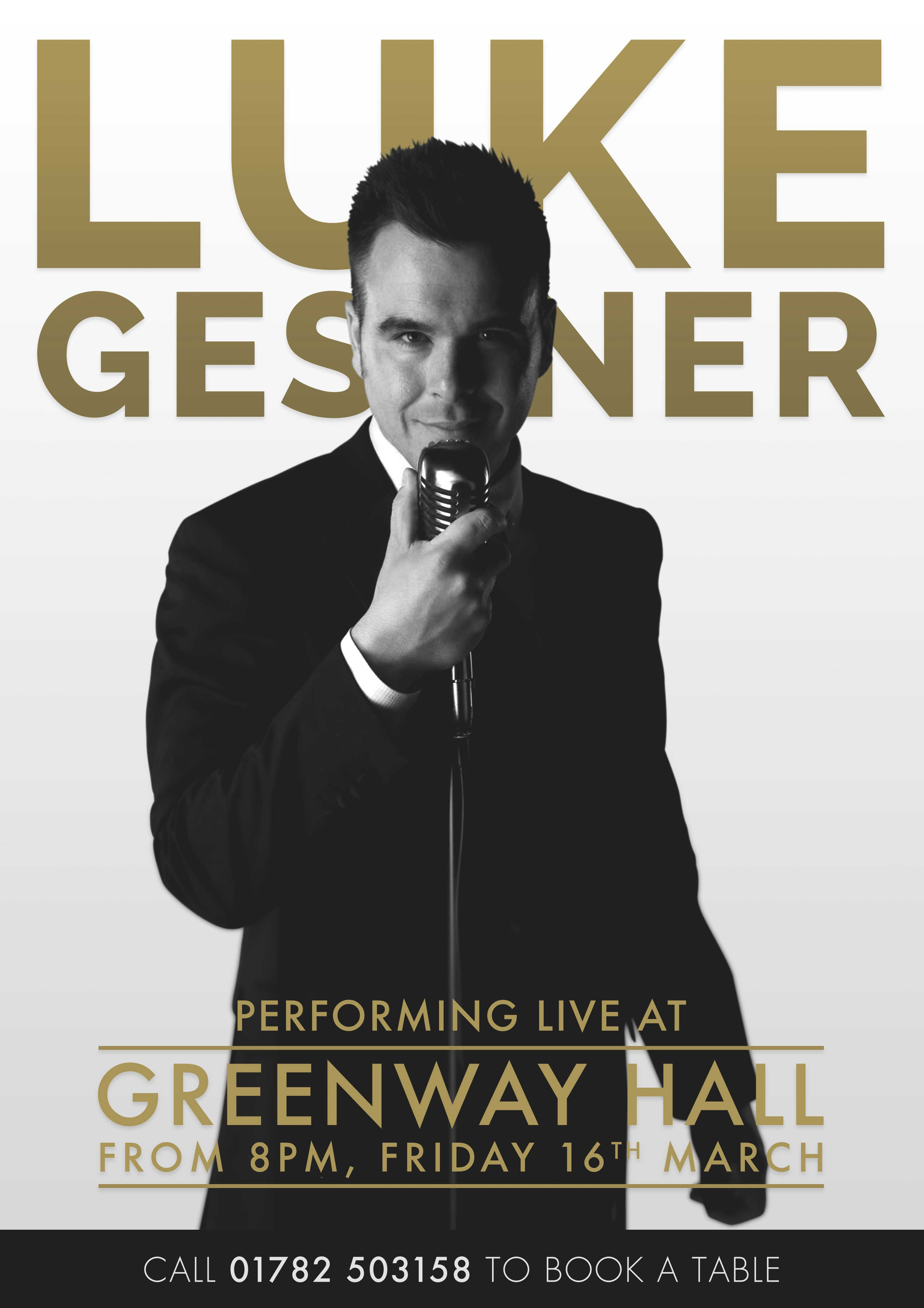 Luke Gessner Performing Live 16th March 2018