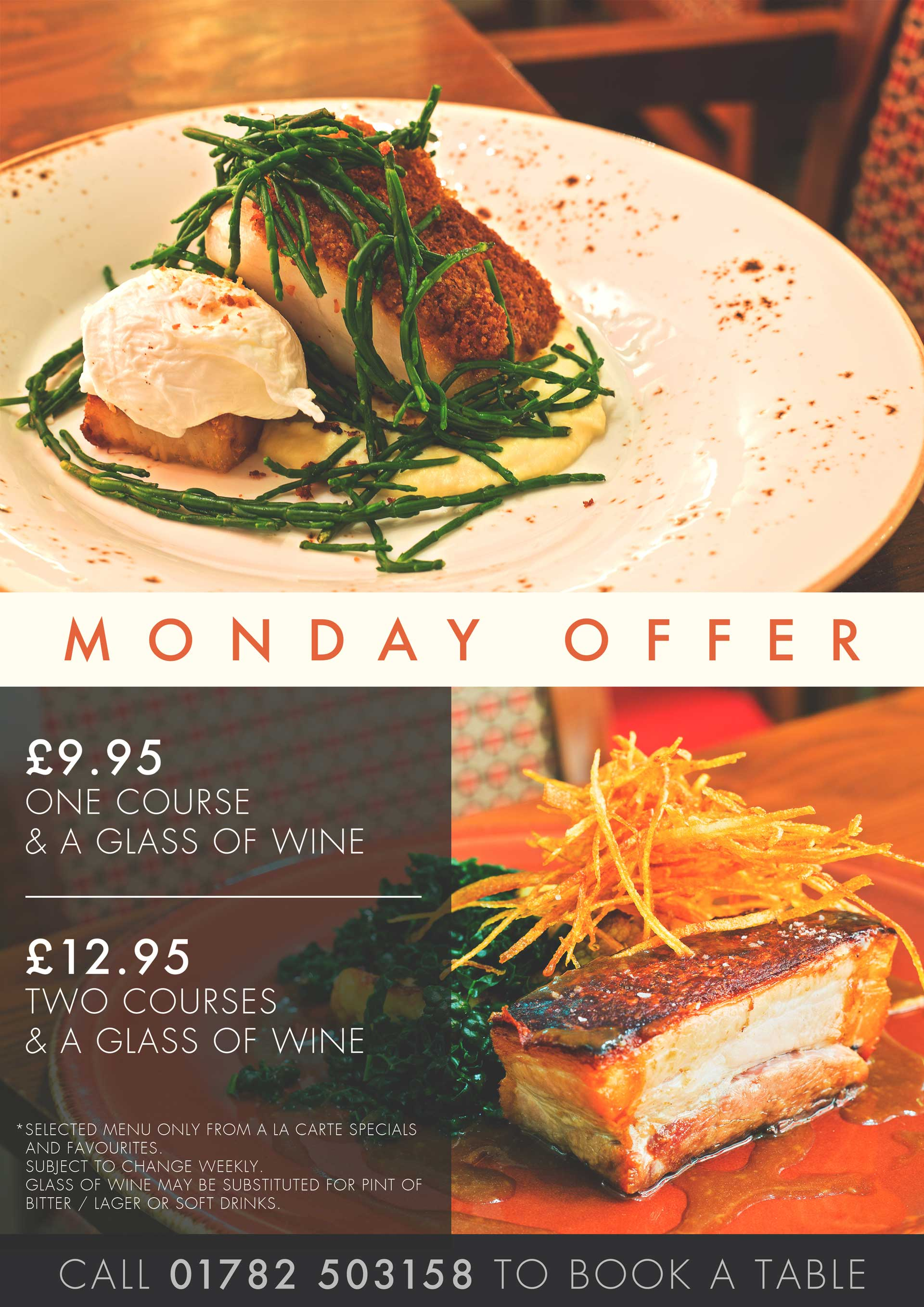Monday Meal Offer
