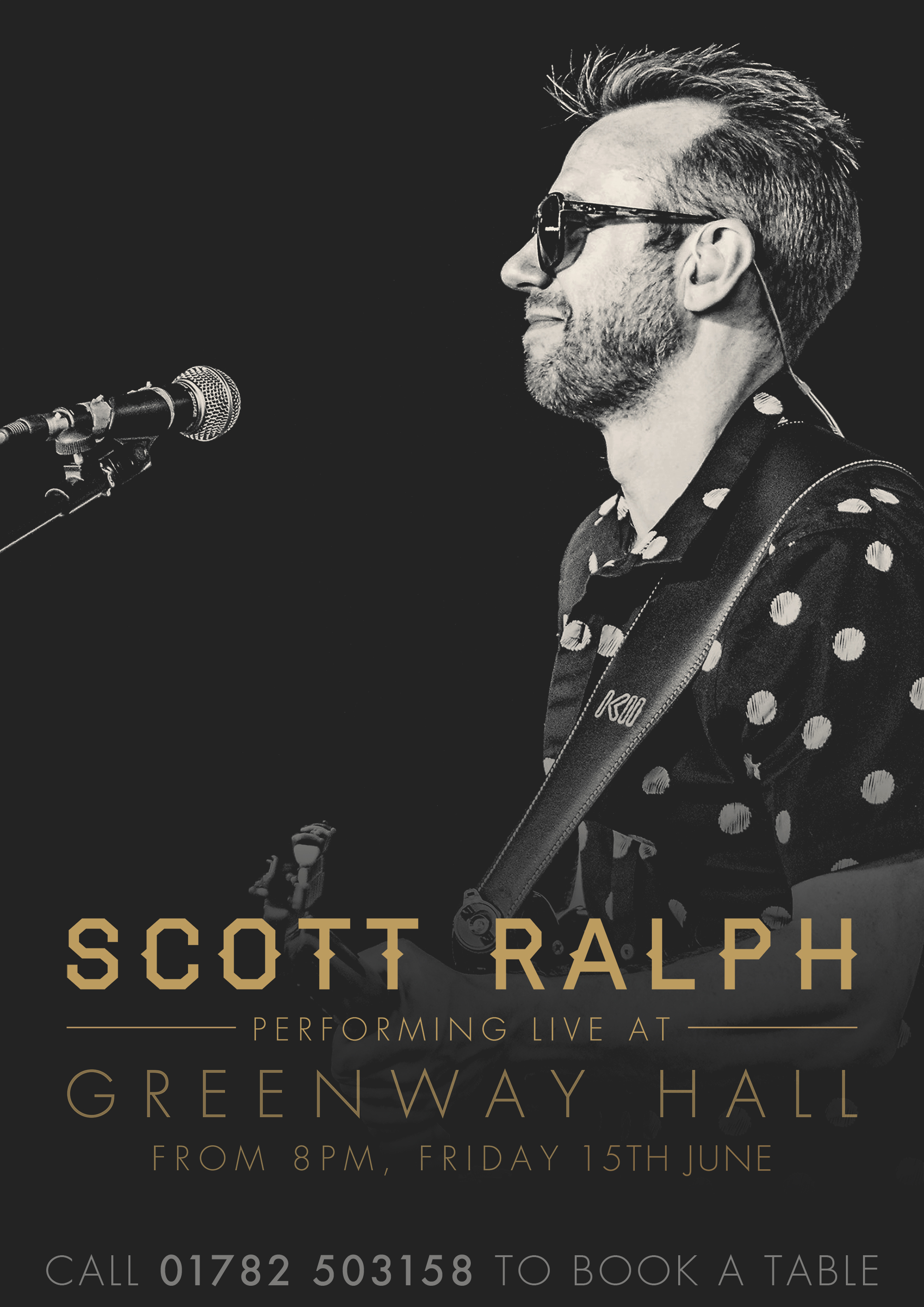 Scott Ralph performing live this Friday 15th June